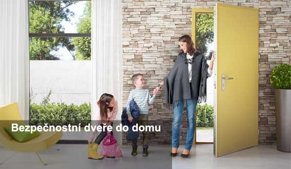 vchodové bezpečnostní dveře do domu Hradec Králové