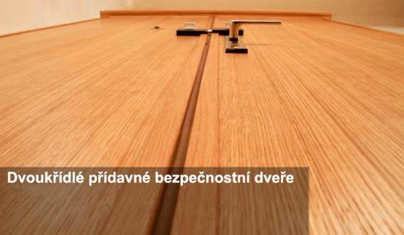 dvoukřídlé bezpečnostní dveře Hradec Králové